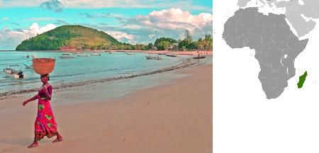 オーシャンジャスパーの産地 マダガスカルの海